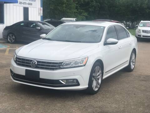 2017 Volkswagen Passat for sale at Discount Auto Company in Houston TX
