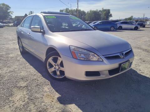 2006 Honda Accord for sale at Canyon View Auto Sales in Cedar City UT