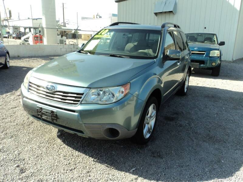 2010 Subaru Forester for sale at DESERT AUTO TRADER in Las Vegas NV