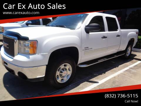 2009 GMC Sierra 2500HD for sale at Car Ex Auto Sales in Houston TX