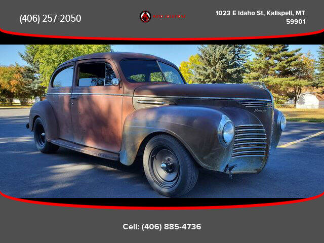 1940 Plymouth Deluxe for sale at Auto Solutions in Kalispell MT