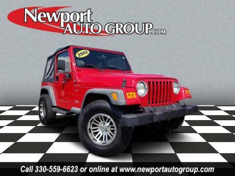 2002 Jeep Wrangler for sale at Newport Auto Group in Austintown OH