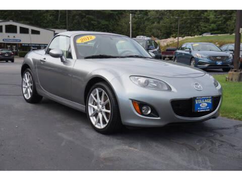 2012 Mazda MX-5 Miata for sale at VILLAGE MOTORS in South Berwick ME
