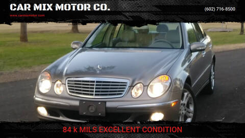 2006 Mercedes-Benz E-Class for sale at CAR MIX MOTOR CO. in Phoenix AZ