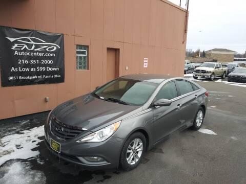2013 Hyundai Sonata for sale at ENZO AUTO in Parma OH