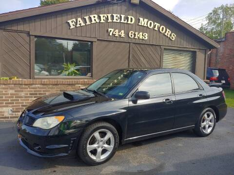 2007 Subaru Impreza for sale at Fairfield Motors in Fort Wayne IN