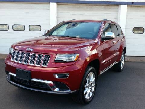 2014 Jeep Grand Cherokee for sale at Action Automotive Inc in Berlin CT