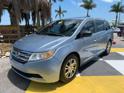 2012 Honda Odyssey for sale at D&S Auto Sales, Inc in Melbourne FL