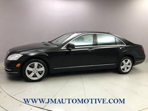 2013 Mercedes-Benz S-Class for sale at J & M Automotive in Naugatuck CT