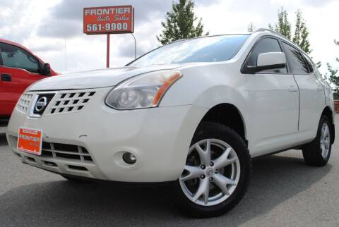 2008 Nissan Rogue for sale at Frontier Auto & RV Sales in Anchorage AK