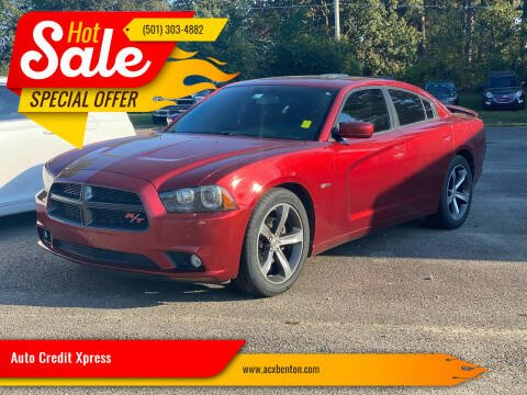 2014 Dodge Charger for sale at Auto Credit Xpress in Benton AR
