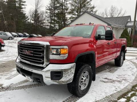 2015 GMC Sierra 2500HD for sale at Williston Economy Motors in Williston VT