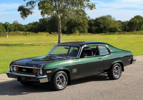 1974 Chevrolet Nova for sale at P J'S AUTO WORLD-CLASSICS in Clearwater FL