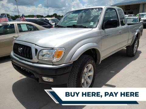 2004 Toyota Tacoma for sale at GRG Auto Plex in Houston TX