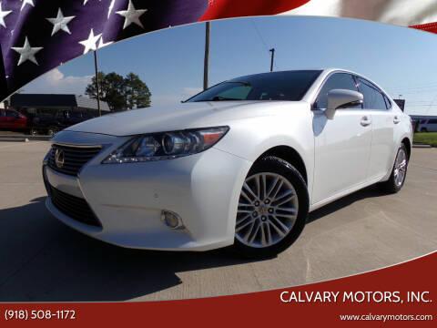 2013 Lexus ES 350 for sale at Calvary Motors, Inc. in Bixby OK