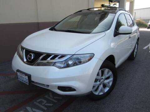 2012 Nissan Murano for sale at PREFERRED MOTOR CARS in Covina CA