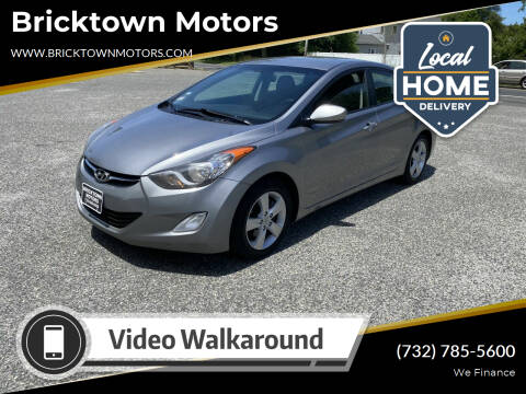 2012 Hyundai Elantra for sale at Bricktown Motors in Brick NJ