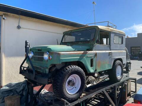 1965 Nissan Patrol for sale at Dodi Auto Sales in Monterey CA