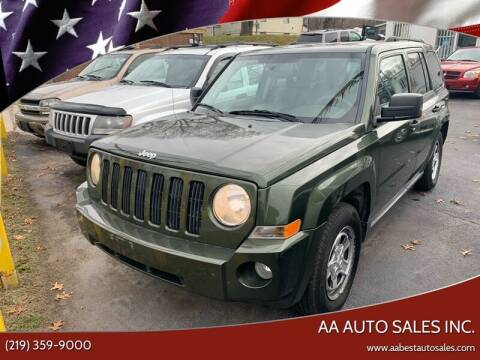 2007 Jeep Patriot for sale at AA Auto Sales Inc. in Gary IN