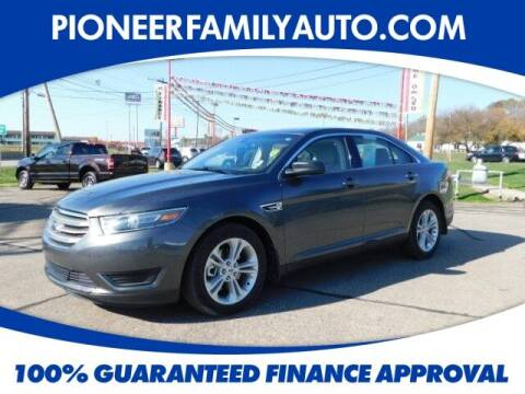 2017 Ford Taurus for sale at Pioneer Family auto in Marietta OH