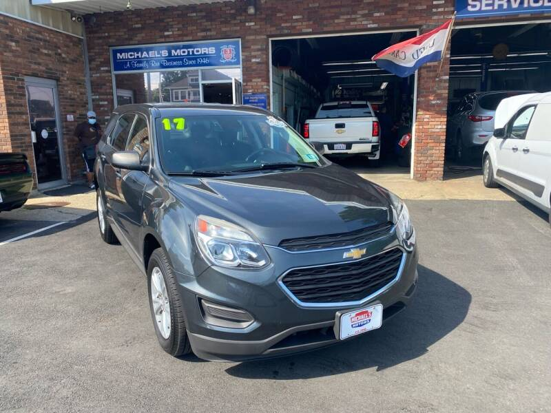2017 Chevrolet Equinox for sale at Michaels Motor Sales INC in Lawrence MA