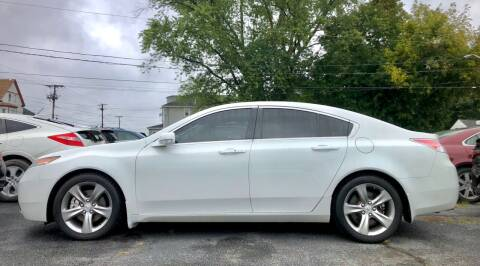 2013 Acura TL for sale at Top Line Import in Haverhill MA