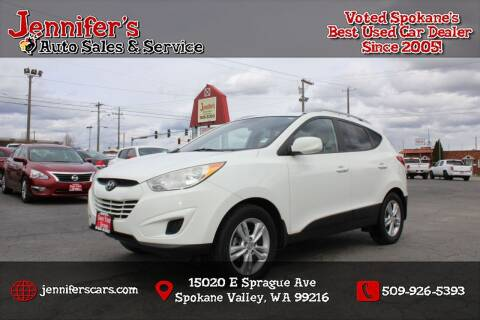 2011 Hyundai Tucson for sale at Jennifer's Auto Sales in Spokane Valley WA