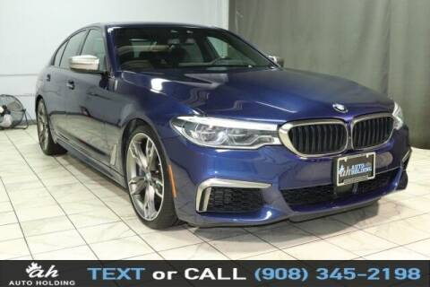 2018 BMW 5 Series for sale at AUTO HOLDING in Hillside NJ
