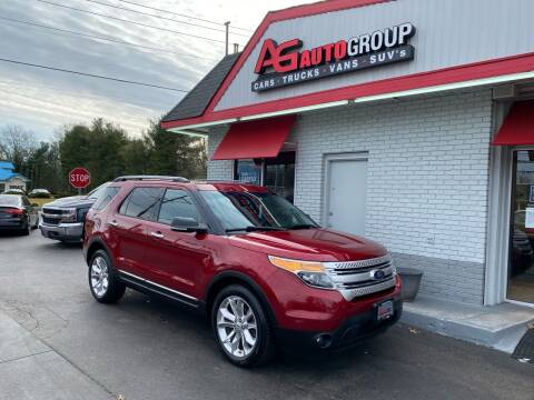 2013 Ford Explorer for sale at AG AUTOGROUP in Vineland NJ