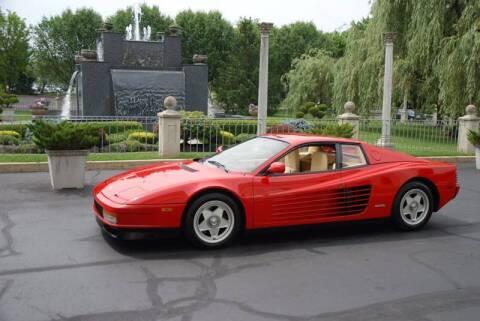 1988 Ferrari Testarossa for sale at Professional Automobile Exchange in Bensalem PA