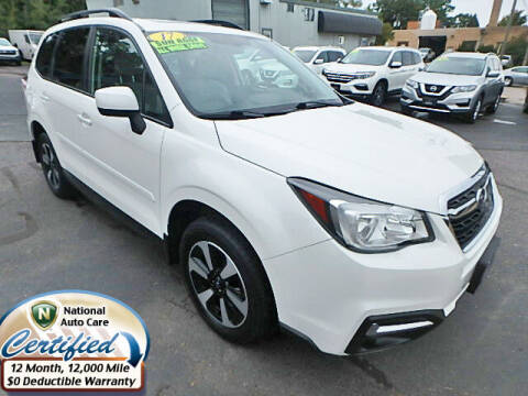 2017 Subaru Forester for sale at Jon's Auto in Marquette MI