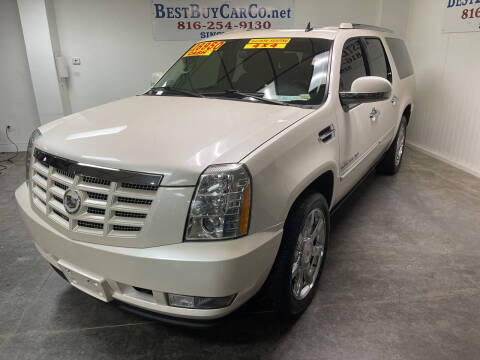 2011 Cadillac Escalade ESV for sale at Best Buy Car Co in Independence MO