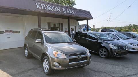 2011 Toyota RAV4 for sale at Kidron Kars INC in Orrville OH