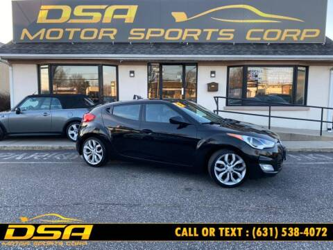 2013 Hyundai Veloster for sale at DSA Motor Sports Corp in Commack NY