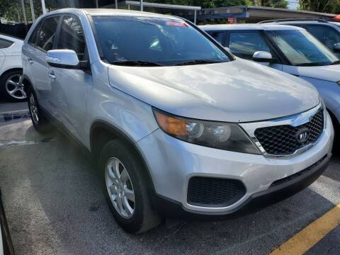 2011 Kia Sorento for sale at America Auto Wholesale Inc in Miami FL