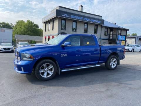 2015 RAM Ram Pickup 1500 for sale at Sisson Pre-Owned in Uniontown PA