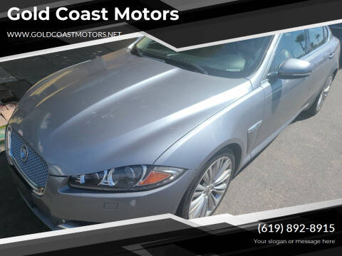 2012 Jaguar XF for sale at Gold Coast Motors in Lemon Grove CA