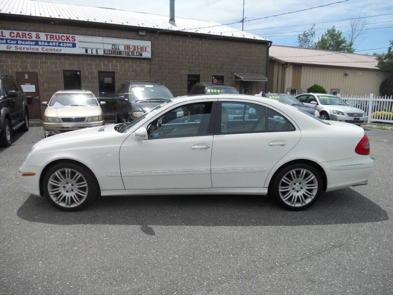 2008 Mercedes-Benz E-Class for sale at All Cars and Trucks in Buena NJ
