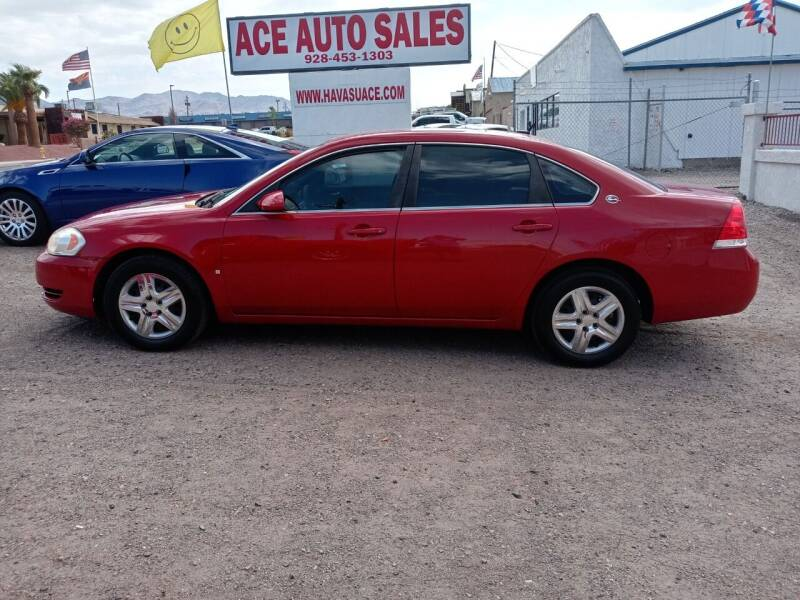 2008 Chevrolet Impala for sale at ACE AUTO SALES in Lake Havasu City AZ