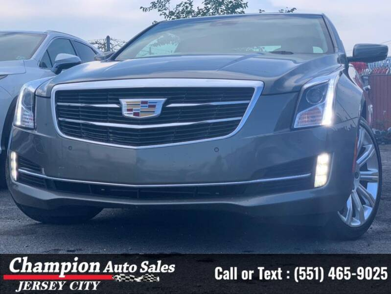 2017 Cadillac ATS for sale at CHAMPION AUTO SALES OF JERSEY CITY in Jersey City NJ
