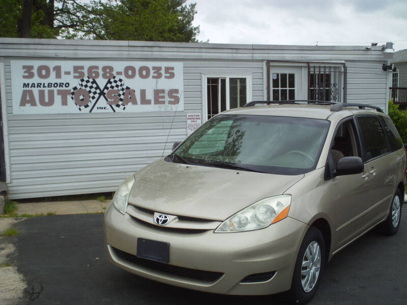 2009 Toyota Sienna for sale at Marlboro Auto Sales in Capitol Heights MD