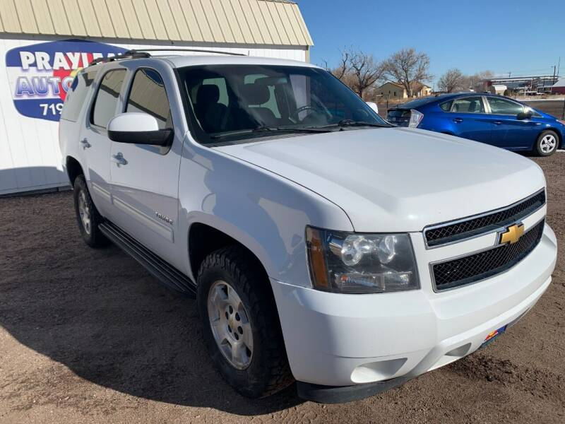 2013 Chevrolet Tahoe for sale at Praylea's Auto Sales in Peyton CO