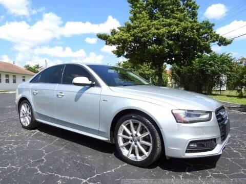 2014 Audi A4 for sale at SUPER DEAL MOTORS 441 in Hollywood FL