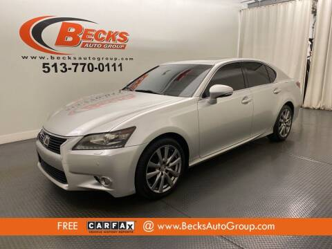 2013 Lexus GS 350 for sale at Becks Auto Group in Mason OH
