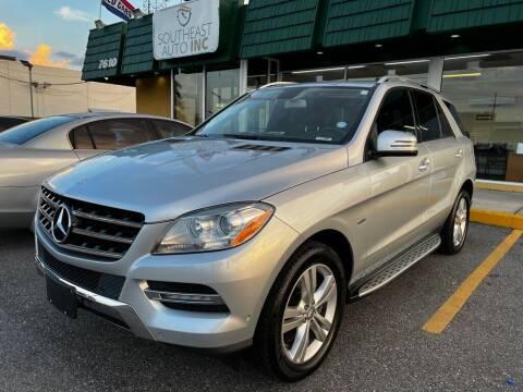2012 Mercedes-Benz M-Class for sale at Southeast Auto Inc in Baton Rouge LA
