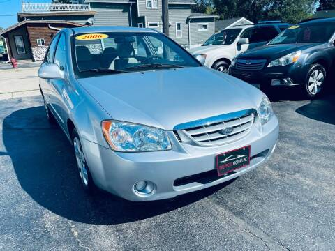 2006 Kia Spectra for sale at SHEFFIELD MOTORS INC in Kenosha WI