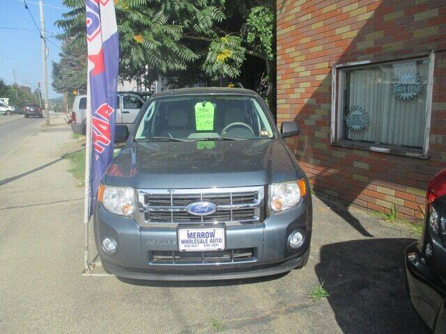 2012 Ford Escape for sale at MERROW WHOLESALE AUTO in Manchester NH