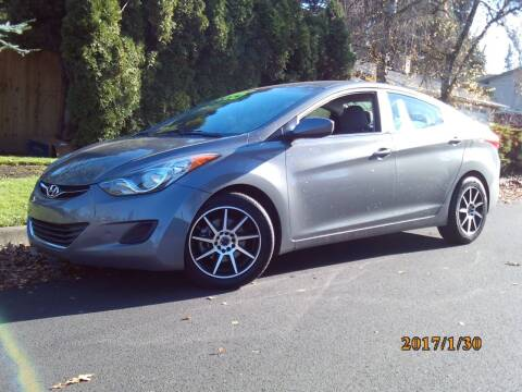 2013 Hyundai Elantra for sale at Redline Auto Sales in Vancouver WA