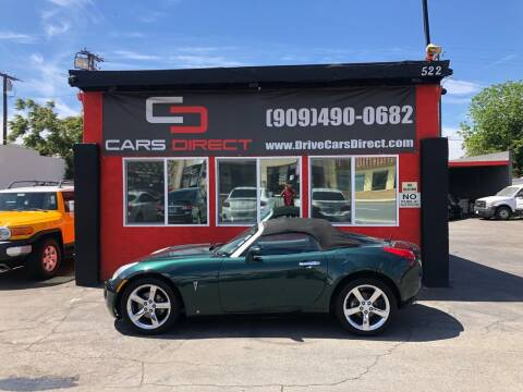 2007 Pontiac Solstice for sale at Cars Direct in Ontario CA