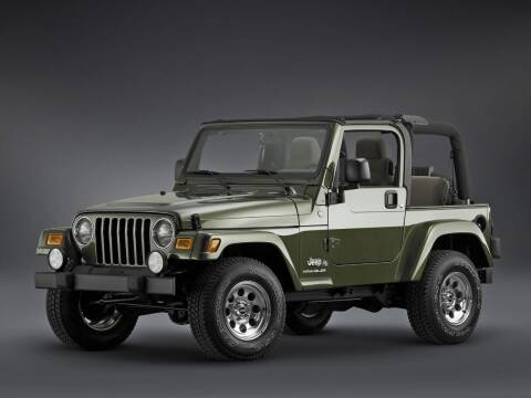 2006 Jeep Wrangler for sale at LAKE CITY AUTO SALES in Forest Park GA